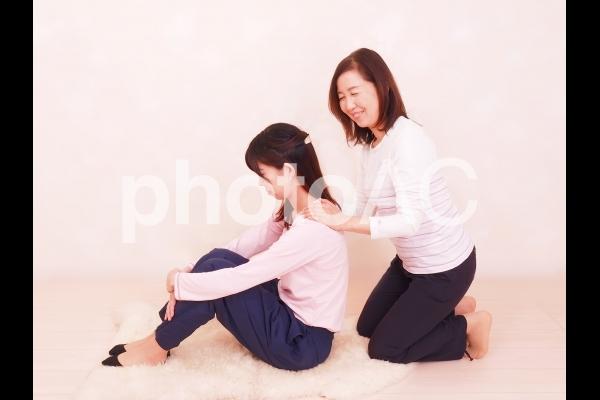 人物 母と娘 28の写真