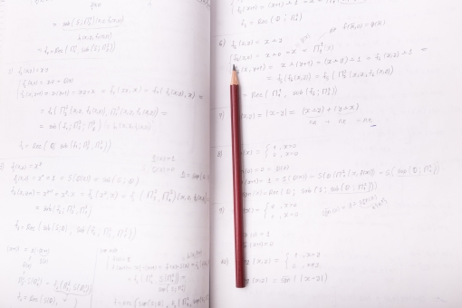 鉛筆 えんぴつ ノート メモ メモ帳 筆記帳 控帳 雑記帳 文具 文房具 筆記具 筆記用具 ステーショナリーグッズ 事務 事務 用品 用具 リングノート 算数 数学 学習 勉強 たし算 ひき算 計算 計算式 数式