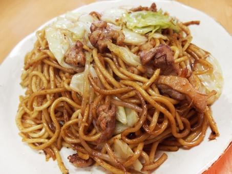 ひるぜん 蒜山 焼きそば 岡山県 B1グランプリ B級グルメ 軽食 食べ物 やきそば 蒜山 キャベツ 鶏肉 親鳥 ソース焼きそば ソウルフード