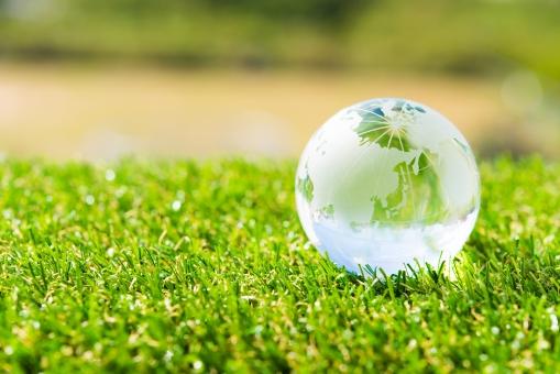 エコロジー クリーン 環境 エコノミー グリーン 社会 省エネ クリスタル 問題 公園 地球 課題 緑 未来 アース 芝生 エネルギー 世界 ワールド 自然