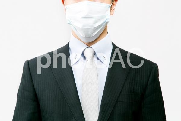 ビジネスマン27【風邪】の写真