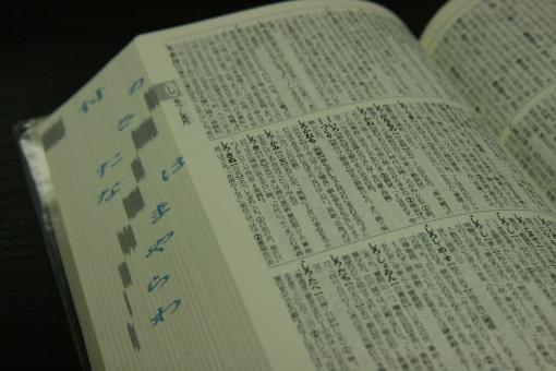 辞書 じしょ 辞典 国語辞典 古語辞典 調べもの 調べ物 勉強 じてん 国語 日本語 言語 研究 受験 受験生 学生