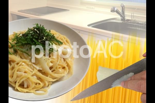 料理パスタの写真