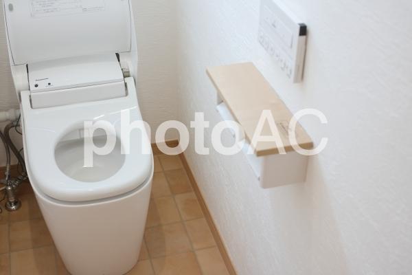 洋式トイレの写真
