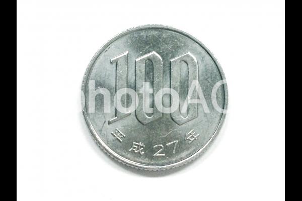 100円玉01の写真