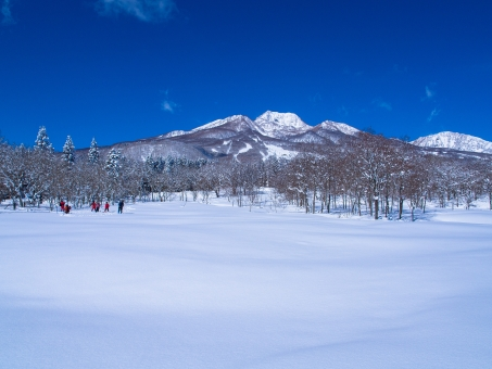 雪 自然 風景 雪山 スキー場 妙高 スノーハイキング スノートレッキング スノーシュー 雪原