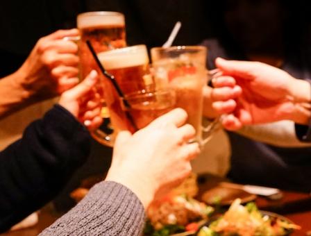 乾杯の写真