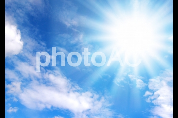 照りつける太陽02の写真