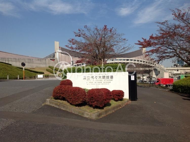 代々木競技場の写真