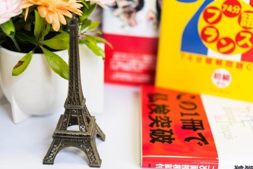 フランス語 エッフェル塔 フランス 勉強 趣味 語学 学習 参考書 仏検 花 本 習い事 小物 旅行 学ぶ
