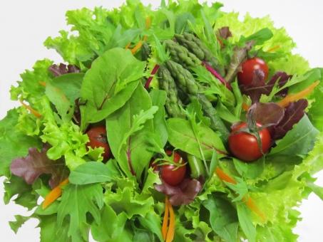 アスパラ プチトマト ベビーリーフ みずな ルッコラ レタス ロケット菜 グリーンサラダ プチトマト 水菜 グリーンリーフ サラダ 野菜 葉っぱ
