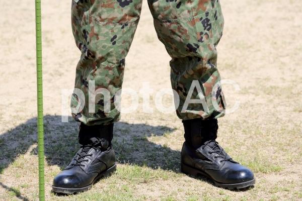 自衛隊 陸上自衛隊 人物の写真