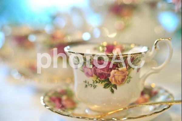 ティーカップの写真