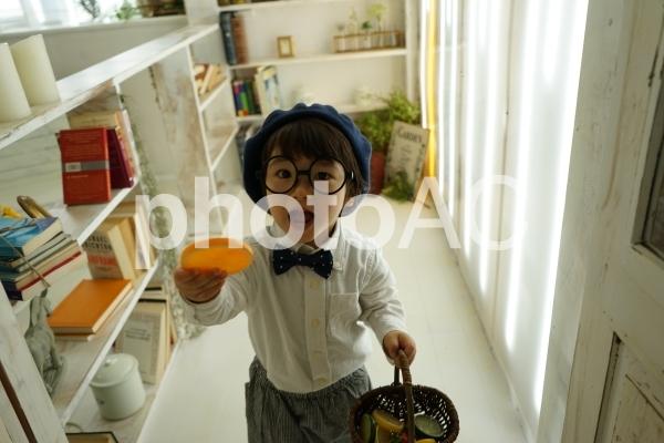 子ども探偵の写真