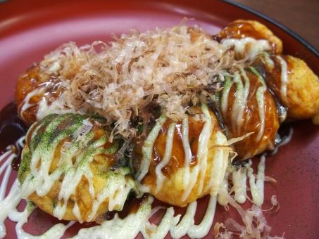 たこ焼き タコ焼き ソース マヨネーズ カツオ かつお節 青のり イベント 屋台 大阪 食べ物
