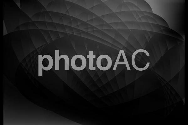 黒の流線型抽象背景素材テクスチャの写真