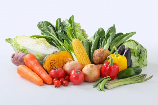 【切抜PSD】野菜の写真