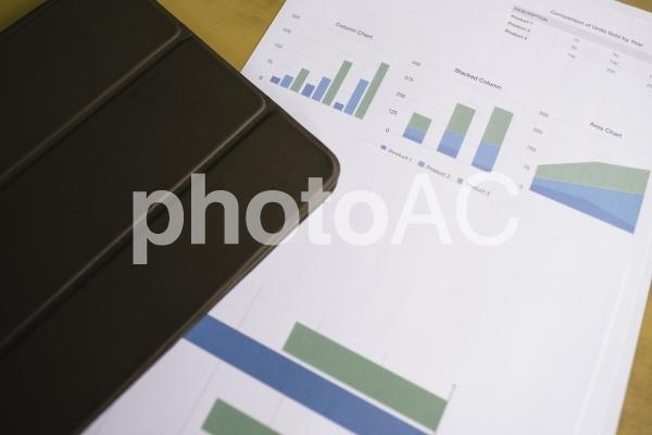 チャートグラフ・棒グラフ6の写真