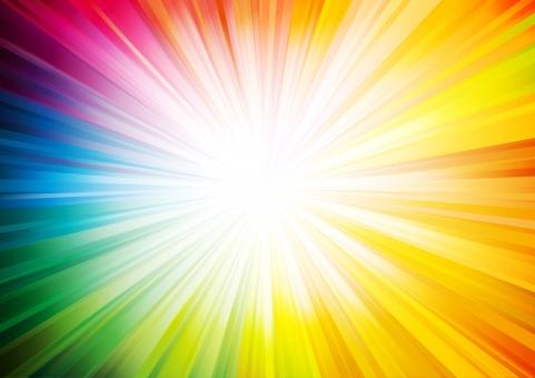 背景素材 抽象的 スピード 放射 光 アート グラフィック スペース 線 背景 集中線 ラインアート バックイメージ 背景デザイン 背景画像 光線 光沢 テクスチャ 風 グラデーション cg it デジタル インターネット 近未来 ライト テクノロジー バーチャル サイバー ビジネス コンピューター 輝き 放射線 放射状 レインボー 七色 カラフル