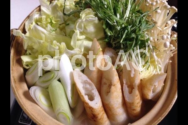 家庭料理 きりたんぽ鍋の写真