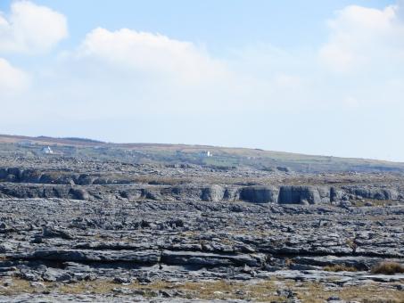 岩 岩盤 不毛の地 荒地 ヨーロッパ 干からびた ガサガサ カサカサ 岩石 乾燥 ドライ