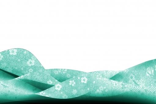 和柄のねじれイメージ青psdの写真