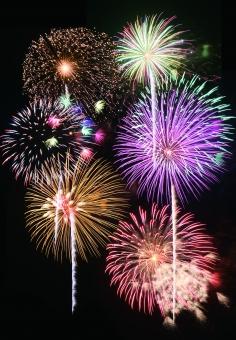 夏 祭り 綺麗 爆発 夜空 華やか 花火