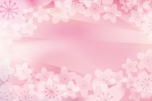 さくら 桜 サクラ 桜の花 春 和風 壁紙 卒業式 入学式 卒園式 花 背景 素材 イラスト フレーム フレーム枠 枠 桃色 花びら 模様 ピンク 花弁 はなびら 飾り枠 罫 飾り罫 春色 メッセージカード ポストカード ひなまつり