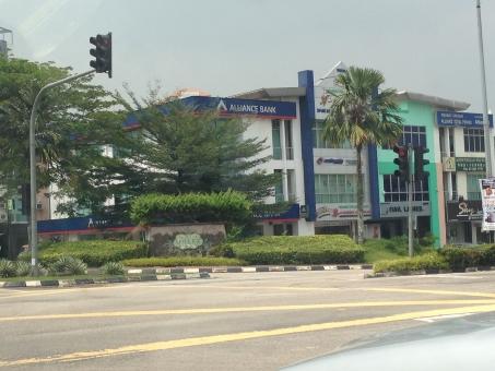 マレーシア ジョホールバル 街中 イスカンダル計画 市街