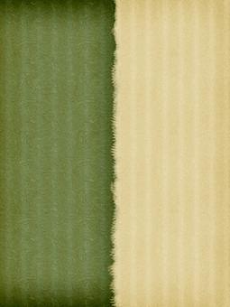 和紙 テクスチャ テクスチャー 壁紙 背景 背景素材 紙 ペーパー 和風素材 和風 前面 一面 日本 和 バックグラウンド コピースペース テキストスペース クラフト パターン 工芸 伝統 模様 縦縞 縦線 ストライプ ボーダー 繊維 2色 二色 バイカラー ツートン ツートーン 緑 深緑 抹茶色 生成 ベージュ