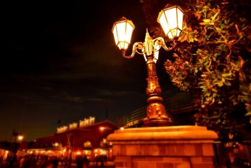 街灯の写真