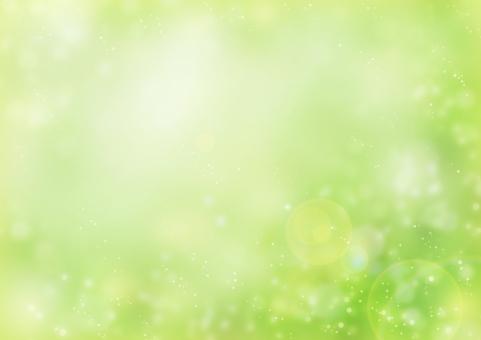 背景 背景素材 テクスチャ 春 夏 初夏 木 木漏れ日 緑 黄緑 葉 太陽光 太陽 光 輝き こもれび キラキラ きらきら 丸 円 グラデーション 爽やか 森 自然 林 日差し 陽射し グリーン 植物 新緑 癒し リラックス