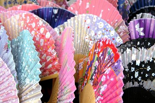 扇子 夏 和紙 和風 和 日本 japan 涼 和服 小物 着物 あおぐ 折りたたみ 儀礼 舞踊 踊り 竹 京都 折り畳み 蛇腹