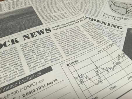 英字新聞 英語 新聞 白黒 外国 海外