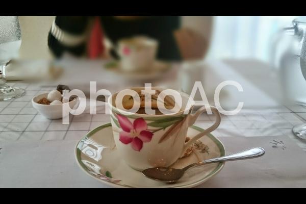 主婦のカフェタイムの写真