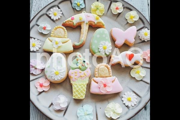 アイシングクッキーの写真
