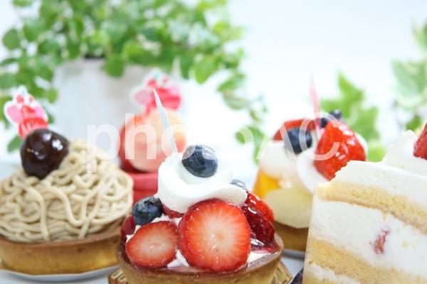 スイーツ いろいろ ケーキ デザートの写真