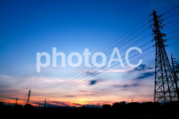 鉄塔の写真