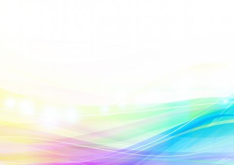 波 背景 バックグラウンド テクスチャ 虹 レインボー ウェーブ エコ 環境 流れ 風 光 線 色 透明感 グラデーション 春 波形 バックグランド 輝き キラキラ 交差 レイヤー 重なり 流線 やわらか 柔らか 青 ブルー 紫 パープル 黄 イエロー クリア 透明 オーロラ グラフィック 空間 自然 素材