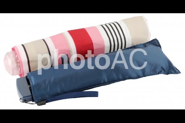 折り畳み傘(切り抜きパス付・PSD背景透過)の写真