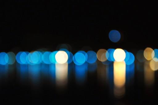 光の粒の写真