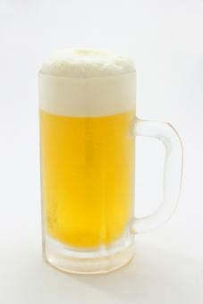 ビール 泡の写真