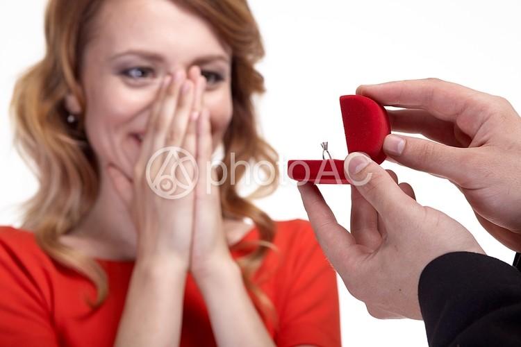 プロポーズの写真