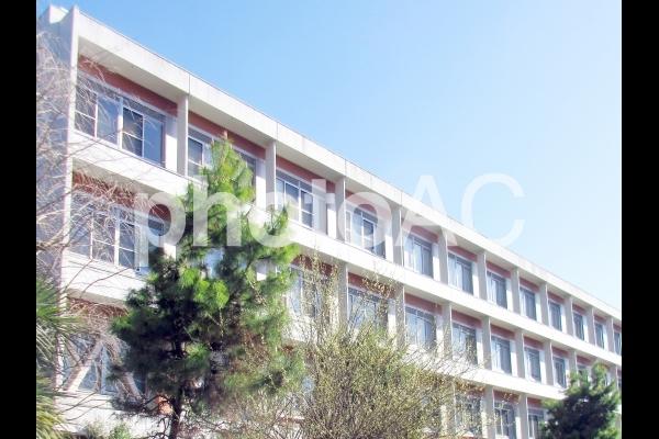 学校 校舎 病院 外観 屋外の写真