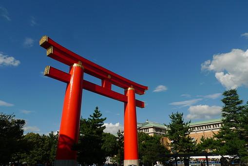 鳥居 平安神宮 美術館 京都市 岡崎