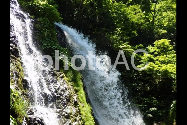 白銀の滝(山形県銀山温泉)4の写真