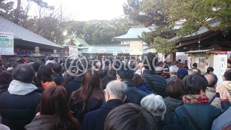 恵比寿神社にての写真