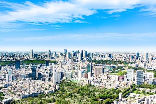 東京都市景観の写真