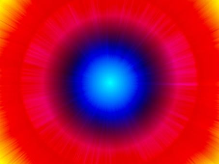 派手 原色 明るい 瞬間移動 瞬間 移動 未来 扉 入口 宇宙 飛び立つ 希望 暗闇 抜ける ワープ 赤 黄色 青 ピンク 強烈 水色 背景 テクスチャ 壁紙 素材 イメージ 通り道 衝撃 まる インパクト