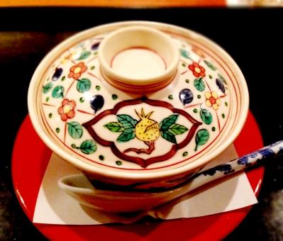 懐石料理 茶碗蒸し 和食 料亭 京料理